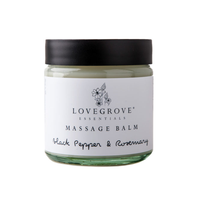 Black Pepper & Rosemary Massage Balm