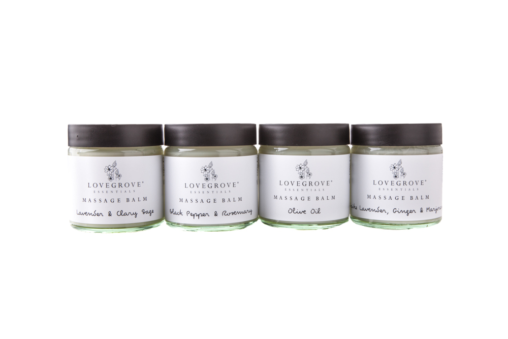 Lovegrove Essentials Massage Balms